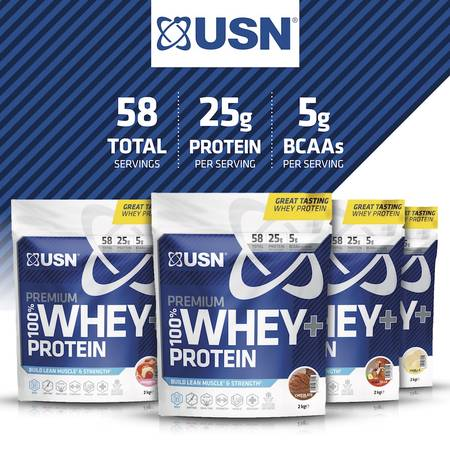 USN 100% Whey Protein Bag